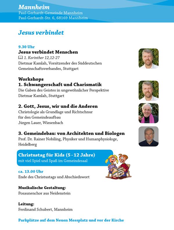 Christustag 2018 Mannheim